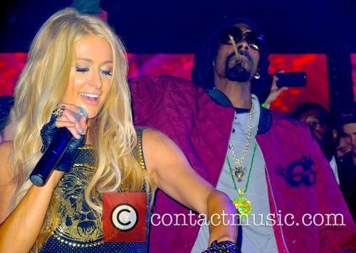 Paris Hilton, Snoop Lion and Snoop Dogg 8