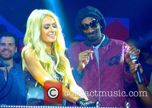Paris Hilton, Snoop Lion and Snoop Dogg 1