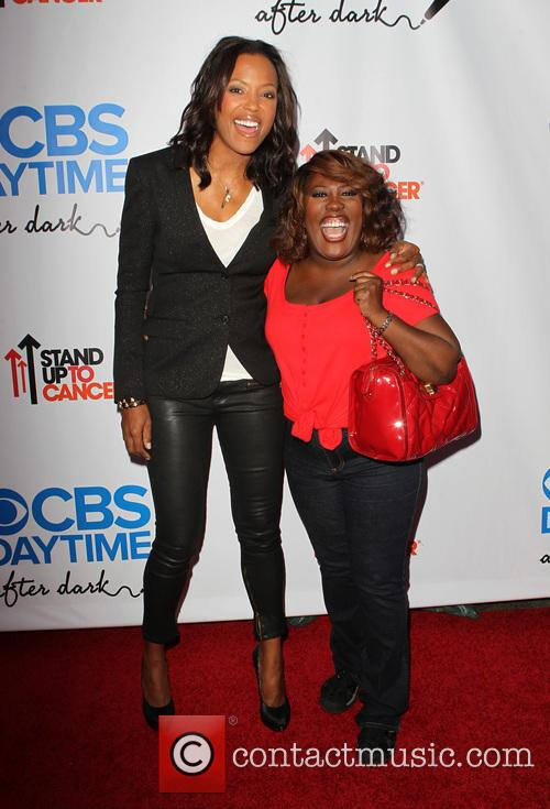 Aisha Tyler and Sheryl Underwood 1
