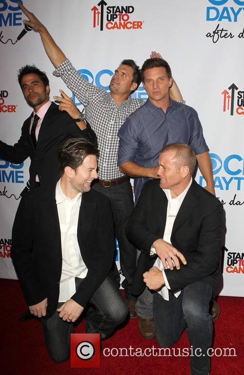 Ignacio Serricchio, Joshua Morrow, Steve Burton, Guests, The Comedy Store