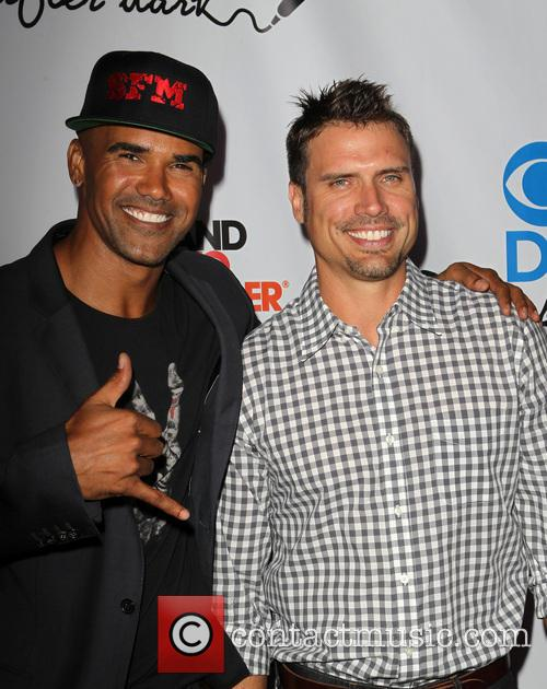 Shemar Moore and Joshua Morrow 2