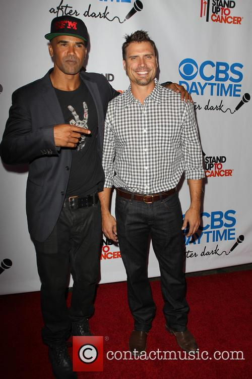 Shemar Moore and Joshua Morrow 1