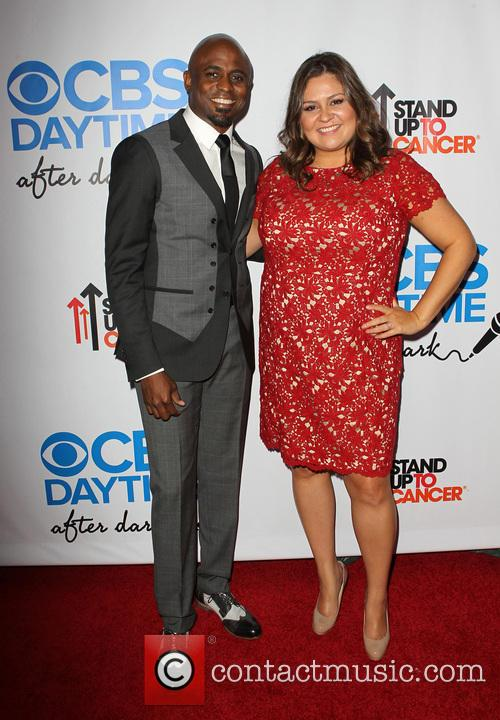 Wayne Brady and Angelica Mcdaniel 2