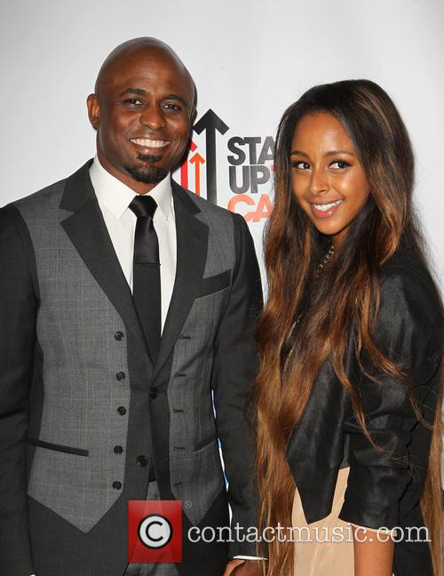 Wayne Brady and Marissa 5