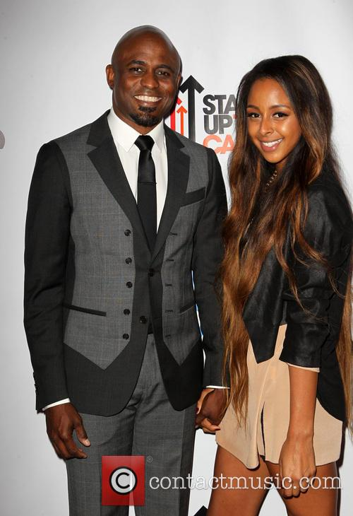 Wayne Brady and Marissa 7