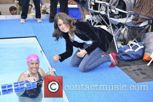 Diana Nyad and Nikki Reed 2