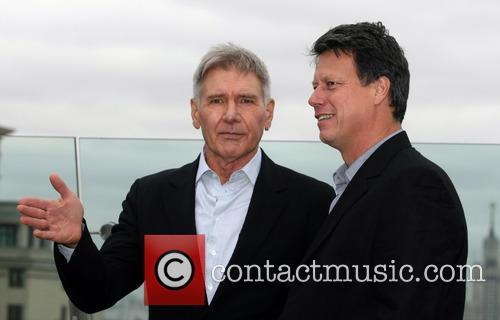 Harrison Ford and Gavin Hood 4