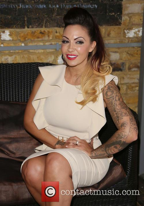 Jodie Marsh TV press launch