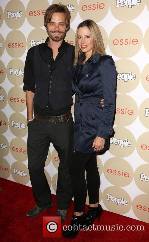 Christopher Backus and Mira Sorvino 8