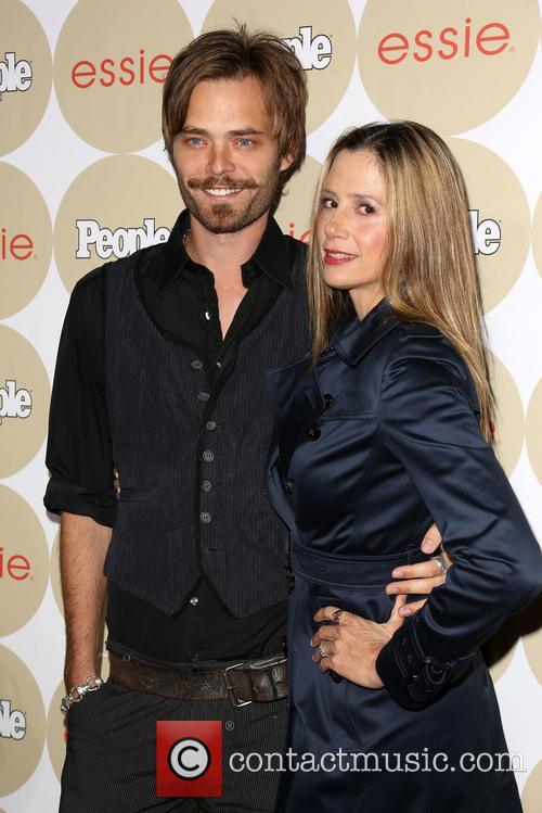 Mira Sorvino and Christopher Backus 2