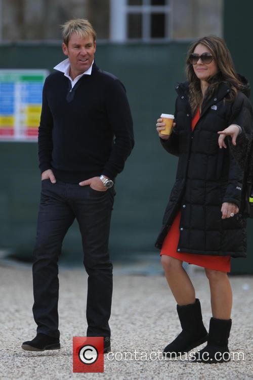 Elizabeth Hurley and Shane Warne 2