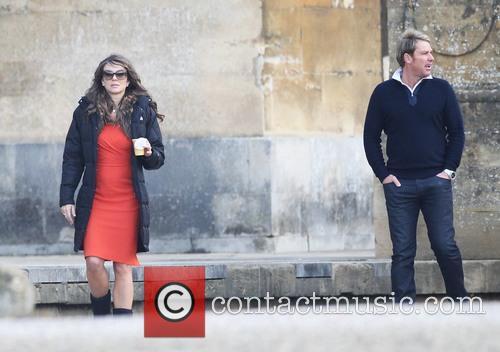 Elizabeth Hurley and Shane Warne 3