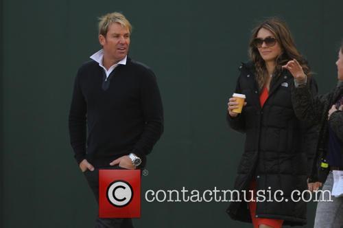 Elizabeth Hurley and Shane Warne 6