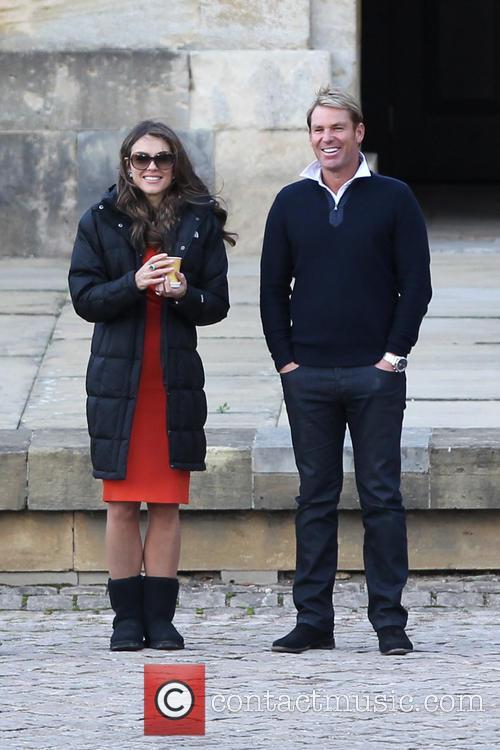 Elizabeth Hurley and Shane Warne 10
