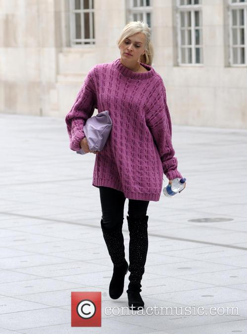 Fearne Cotton arrives at the BBC Radio 1...