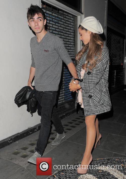 Ariana Grande and Nathan Sykes Dinner Date