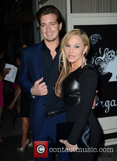 Adrienne Maloof and Boyfriend Jacob Busch Leave a...