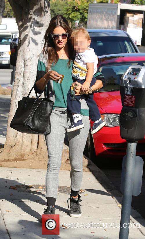 Alessandra Ambrosio and Noah 5
