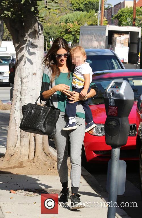 Alessandra Ambrosio and Noah 7