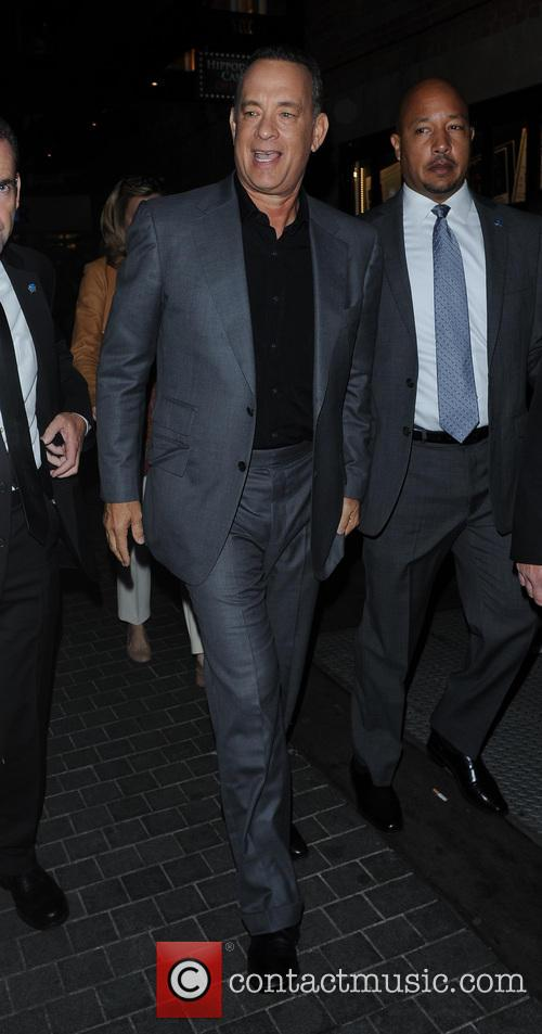tom hanks tom hanks leaving claridges 3901745
