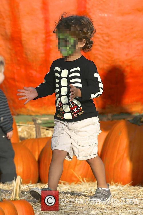Cobi Jones At Mr Bones Pumpkin Patch