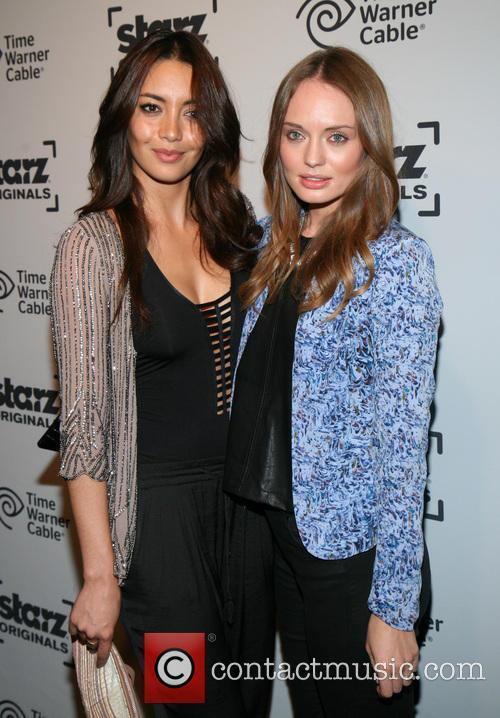Carolina Guerra and Laura Haddock 3