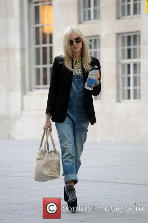 Fearne Cotton pictured arriving at BBC Radio 1
