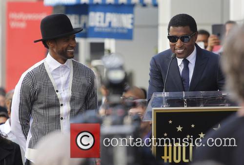 Kenneth Babyface Edmonds and Usher 4
