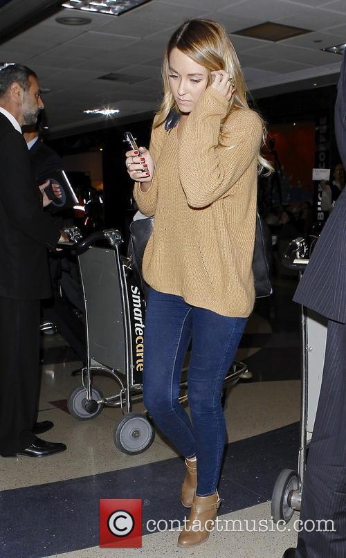 Lauren Conrad at LAX airport