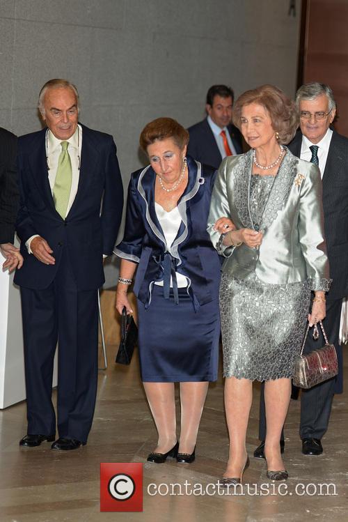 Princess Margarita De Borbon and Queen Sofia 2