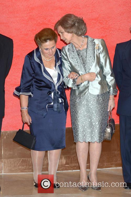 Queen Sofia of Spain at El Prado Museum