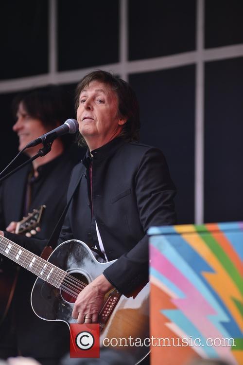 Paul McCartney, Times Square