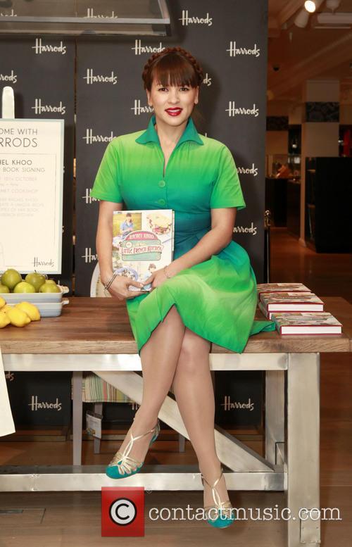 Rachel Khoo booksigning at Harrods