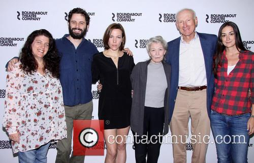 Sheryl Kaller, Luke Kirby, Rebecca Henderson, Phyllis Somerville, James Rebhorn and Meghan Kennedy 1