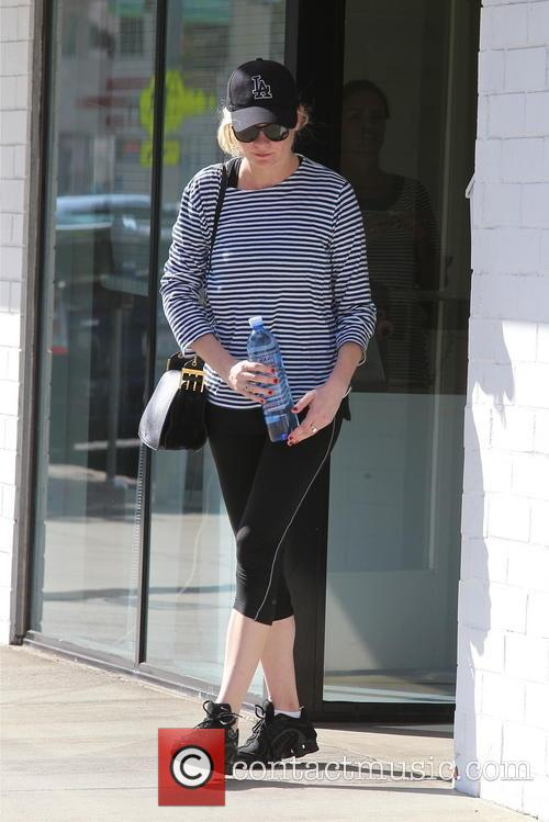 Kirsten Dunst Leaves A Gym