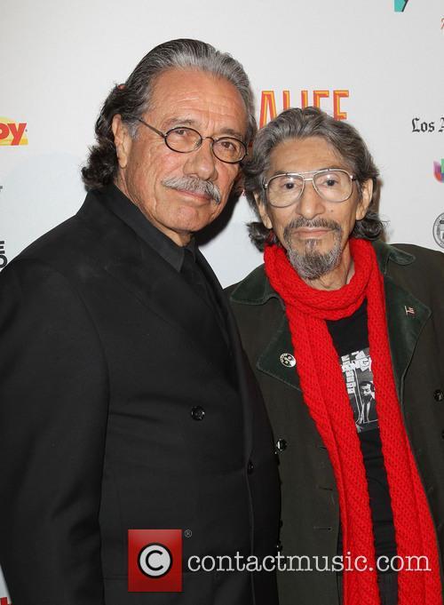 Edward James Olmos and Pablo Ferro 9