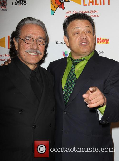 Edward James Olmos and Paul Rodriguez
