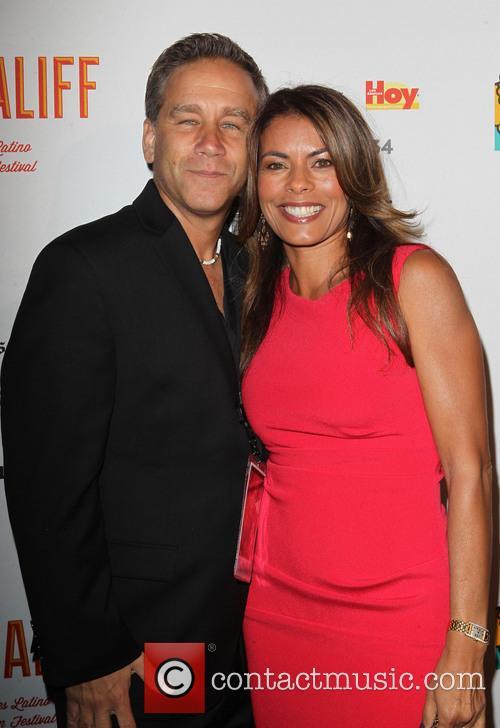 Lisa Vidal and husband