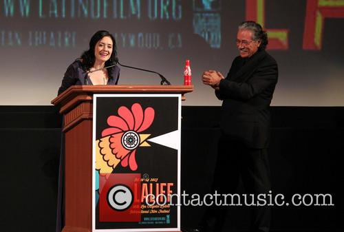 Marlene Dermer and Edward James Olmos 4