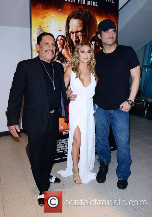 Danny Trejo, Alexa Vega and Robert Rodriguez 6