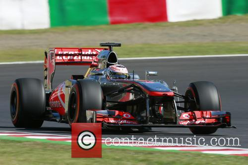 Qualifying for the Japanese Formula One Grand Prix