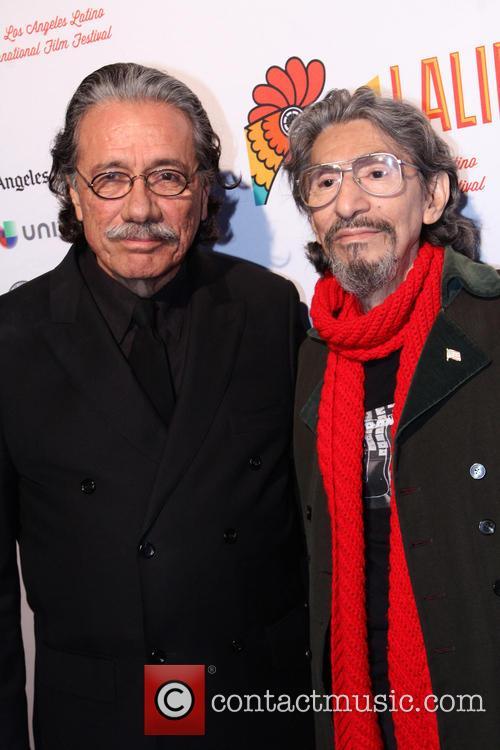 Edward James Olmos and Pablo Ferro 4