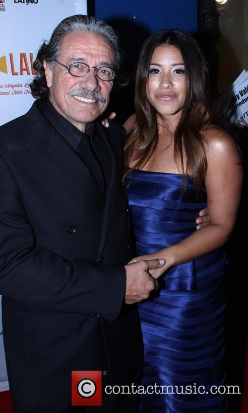 Edward James Olmos and Gina Rodriguez 7
