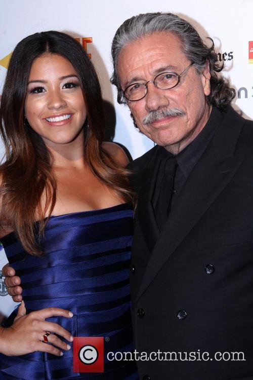 Edward James Olmos and Gina Rodriguez 8