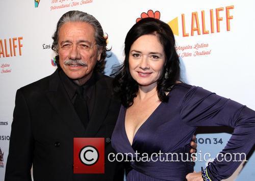 Marlene Dermer and Edward James Olmos 2