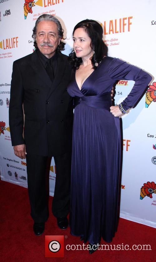 Marlene Dermer and Edward James Olmos 1