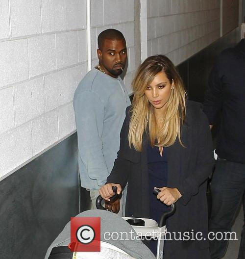 Kim Kardashian and Kanye West 1