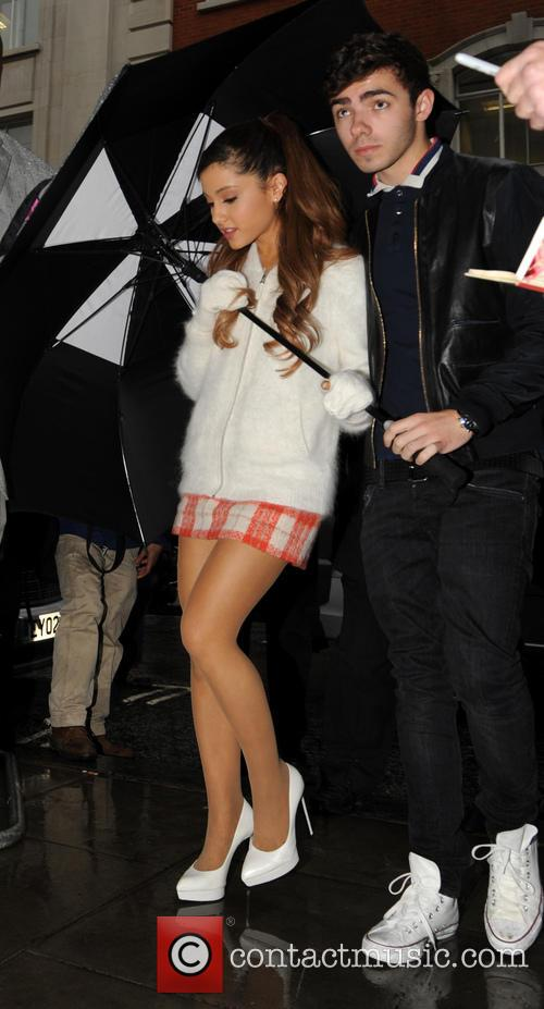 Ariana Grande and Nathan Sykes 2