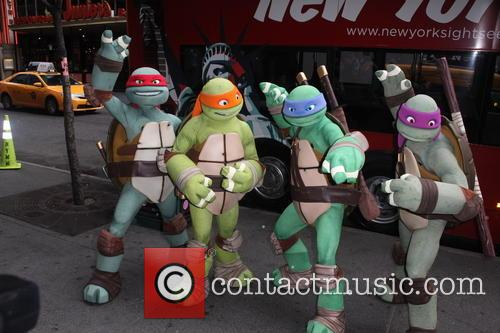 Comic Con and Gray Line Bus Tour TMNT