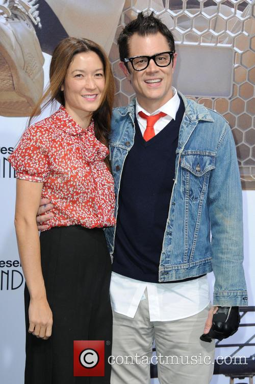 Naomi Nelson and Johnny Knoxville 2